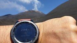 Vulcão Mongibelo (percurso a pé)