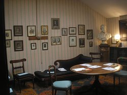 Thomas Carlyle's workroom in the attic