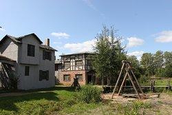 деревня с причалом