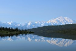 Beautiful view of Mount Denali
