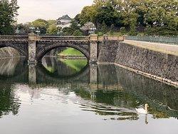 Seimon Ishibashi Bridge or Imperial Palace Main Gate Stone Bridge--Imperial Palace--Tokyo, Japan