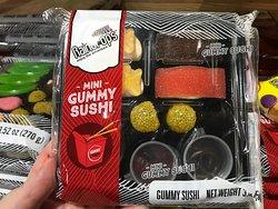 HAHAHAHAHAHAHA for the person that refuses to eat sushi