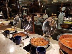 Dinner at ITC Royal -Grand Market Pavellion