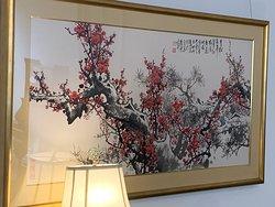 現代中国画壇の第一人者・王成喜の墨彩画