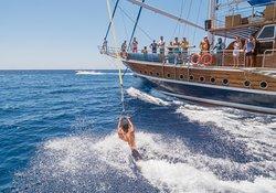Fun on the ocean waves