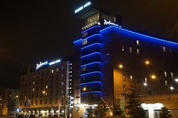 The hotel in a night