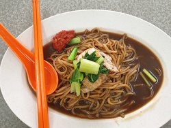 Fried noodles with gravy RM6.5