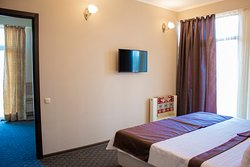 Family Suite with two separate bedrooms and private balcony access