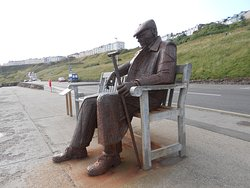 There is also a sculpture in Filey too.....