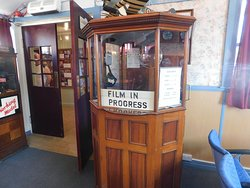Ticket booth in cinema
