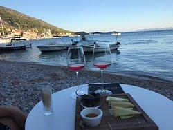 Nice wine tasting near the beach