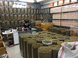 Marché de médecine traditionnelle chinoise de Quingping