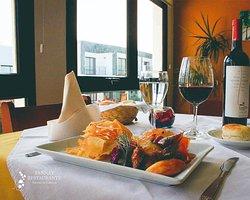 Nuestro Restaurante Tannat, plato: Carre de cerdo