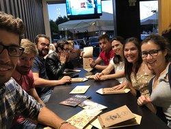 Divino, adoramos, hambúrgueres deliciosos, cervejas especiais e um ambiente jovem e descontraído!