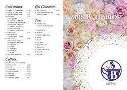 ...our menu   🙂