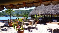 Kuendu Beach restaurant.