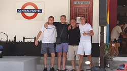 """Farewell to our guests James, Lawson & Tom """"The Brighton Massive"""", enjoy Koh Phangan hopefully we can welcome you back soon."""