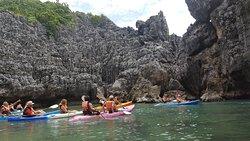 Balade en Kayak, surprise
