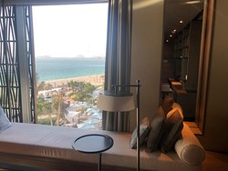 A view from the One bedroom suite