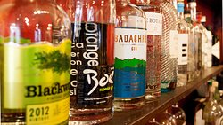 A large range of Scottish gins served with premium Fever Tree tonics by our friendly knowledgeable staff