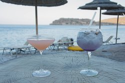 Cocktails by the sea