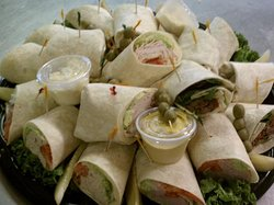 We cater to your every need! check out our party planner menu.