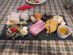 The ploughmans lunch