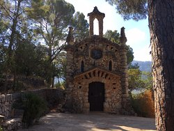 Spændende lille kapel på en stejl vandrerute fra Soller