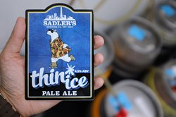 A return of the legendary Sadler's Thin Ice Pale Ale on cask for a new limited edition batch brew.