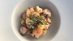 culinair gerechtje a la carte, foto spreekt voor zich