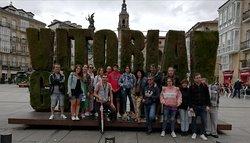 20 de agosto del 2019. Free tour en Vitoria Gasteiz. Ha sido un placer recorrer Vitoria.