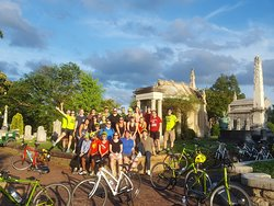 Bicycle Tours of Atlanta hosts many large corporate events each year! It's a great way for everyone to kick back, have some fun and feel like a kid again!