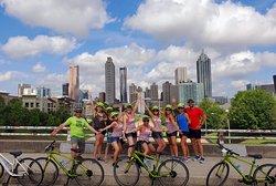 Jackson Street Bridge offers the best photo opp of the Atlanta skyline!