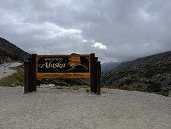 Stopping at the Alaska border