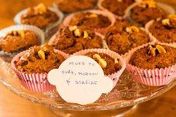 Sweet homemade muffins