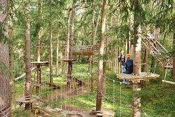 Münchner Wald Kletterwald Vaterstetten