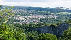 View of Matlock from the Heights of Abraham