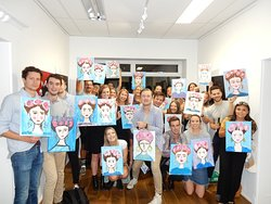 Paint with a Twist in Melbourne!