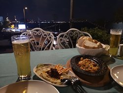 Dinner at the terrace