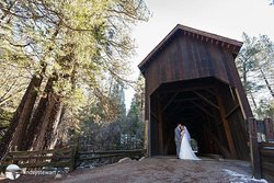 Weddings in Wawona. The Redwoods Wedding and Event Center hosts groups up to 100 guests.