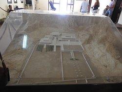 makieta Świątyni Hatszepsut w Deir el-Bahari