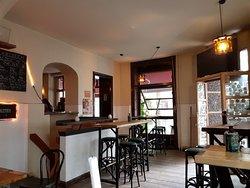 Cool craft beer bar