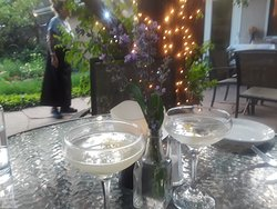Outside dining