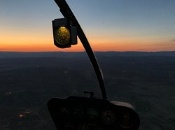 The sunsets in the Southwest are breathtaking, but when seen from a helicopter, they are truly special!