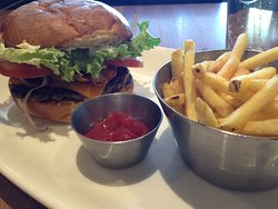 burger and fries...