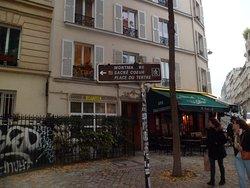 Barrio Montmartre: Parìs, Francia 2017.