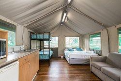 Surfari Tent Interior