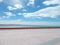 The Rio Gallegos riverfront (at just about a 10-minute walk north from the Museum)
