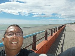 On the Rio Gallegos riverfront (at just about a 10-minute walk north from the Museum)