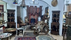 JORDAN CRAFT  CENTER  Furniture, carpets and pieces of copper for wood
